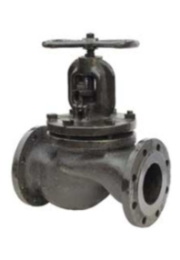 Клапан (вентиль) чугунный 15кч14п Ру16