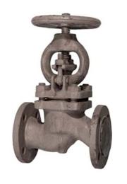 Клапан запорный 15с65нж Ру16
